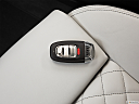 2013 Audi S6 4.0TFSI Seven-speed S Tronic transmission, key fob on driver's seat.