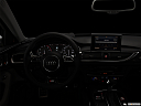 "2013 Audi S6 4.0TFSI Seven-speed S Tronic transmission, centered wide dash shot - ""night"" shot."