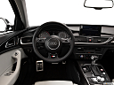 2013 Audi S6 4.0TFSI Seven-speed S Tronic transmission, steering wheel/center console.