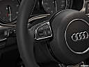2013 Audi S6 4.0TFSI Seven-speed S Tronic transmission, steering wheel controls (left side)