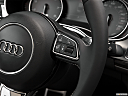 2013 Audi S6 4.0TFSI Seven-speed S Tronic transmission, steering wheel controls (right side)