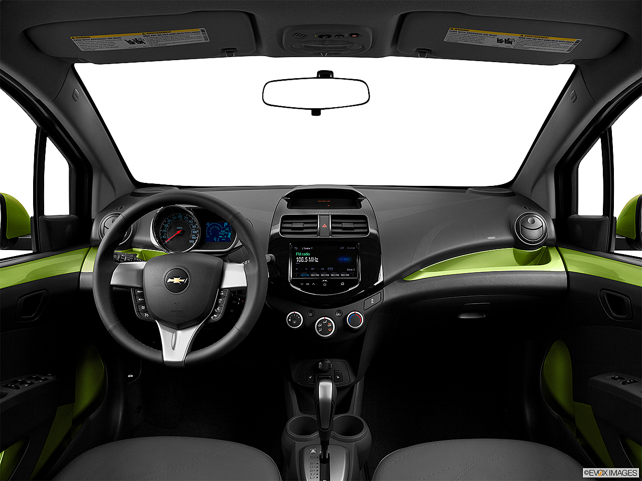 2013 Chevrolet Spark 2LT Automatic, centered wide dash shot