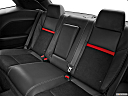 2013 Dodge Challenger SRT8 392, rear seats from drivers side.