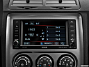 2013 Dodge Challenger SRT8 392, closeup of radio head unit