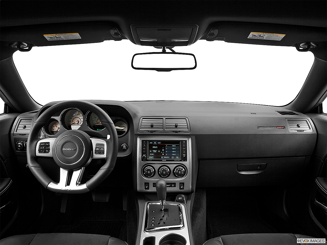 2013 Dodge Challenger SRT8 392, centered wide dash shot