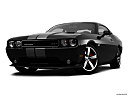 2013 Dodge Challenger SRT8 392, front angle view, low wide perspective.