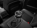 2013 Dodge Challenger SRT8 392, third row center cup holder with coffee prop.