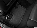 2013 Dodge Challenger SXT, rear driver's side floor mat. mid-seat level from outside looking in.