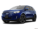 2013 Ford Edge SEL, front angle medium view.