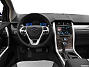 2013 Ford Edge SEL, steering wheel/center console.