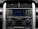 2013 Ford Edge SE, closeup of radio head unit