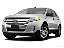 2013 Ford Edge SE, front angle view, low wide perspective.