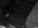 2013 Ford Edge SE, rear driver's side floor mat. mid-seat level from outside looking in.