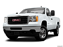 2013 GMC Sierra 2500HD WT, front angle view, low wide perspective.