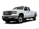 2013 GMC Sierra 2500HD SLE, front angle medium view.