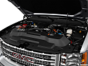 2013 GMC Sierra 2500HD SLT, engine.