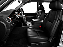 2013 GMC Sierra 2500HD SLT, front seats from drivers side.