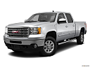 2013 GMC Sierra 2500HD SLT, front angle medium view.