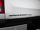 2013 GMC Sierra 2500HD SLT, rear model badge/emblem