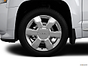 2013 GMC Terrain Denali, front drivers side wheel at profile.