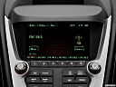 2013 GMC Terrain Denali, closeup of radio head unit