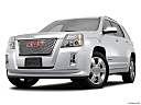 2013 GMC Terrain Denali, front angle view, low wide perspective.