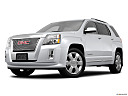 2013 GMC Terrain Denali, front angle medium view.