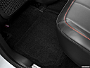 2013 GMC Terrain Denali, rear driver's side floor mat. mid-seat level from outside looking in.