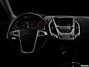 "2013 GMC Terrain Denali, centered wide dash shot - ""night"" shot."