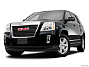 2013 GMC Terrain SLE-1, front angle view, low wide perspective.