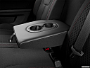 2013 GMC Terrain SLE-1, rear center console with closed lid from driver's side looking down.