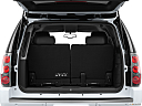 2013 GMC Yukon Denali, trunk open.