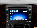 2013 GMC Yukon Denali, closeup of radio head unit