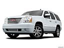 2013 GMC Yukon Denali, front angle medium view.