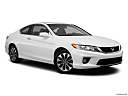 2013 Honda Accord EX, front passenger 3/4 w/ wheels turned.
