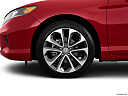 2013 Honda Accord EX-L V-6, front drivers side wheel at profile.
