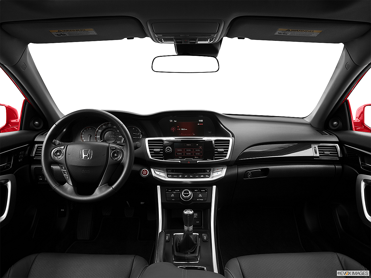2013 Honda Accord EX-L V-6, centered wide dash shot