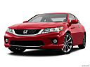2013 Honda Accord EX-L V-6, front angle view, low wide perspective.