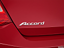 2013 Honda Accord EX-L V-6, rear model badge/emblem