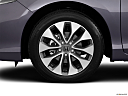 2013 Honda Accord LX-S, front drivers side wheel at profile.