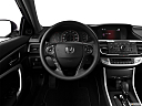 2013 Honda Accord LX-S, steering wheel/center console.