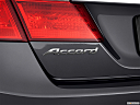 2013 Honda Accord Sport, rear model badge/emblem
