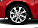 2013 Hyundai Accent GLS, front drivers side wheel at profile.