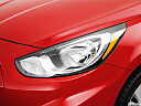 2013 Hyundai Accent GLS, drivers side headlight.
