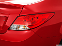 2013 Hyundai Accent GLS, passenger side taillight.