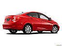 2013 Hyundai Accent GLS, low/wide rear 5/8.
