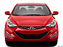 2013 Hyundai Elantra Coupe GS, low/wide front.