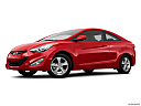 2013 Hyundai Elantra Coupe GS, low/wide front 5/8.
