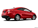 2013 Hyundai Elantra Coupe GS, low/wide rear 5/8.