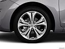2013 Hyundai Elantra GT 6-Speed Automatic Transmission, front drivers side wheel at profile.